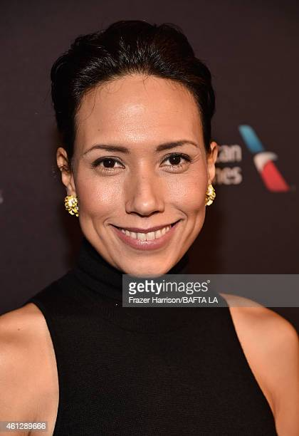 Actress Andrea Suarez Paz attends the BAFTA Los Angeles Tea Party at The Four Seasons Hotel Los Angeles At Beverly Hills on January 10, 2015 in...