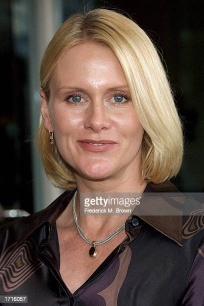 Actress Andrea Thompson attends the 2003 TCA Press Tour on January 8 2003 in Hollywood California