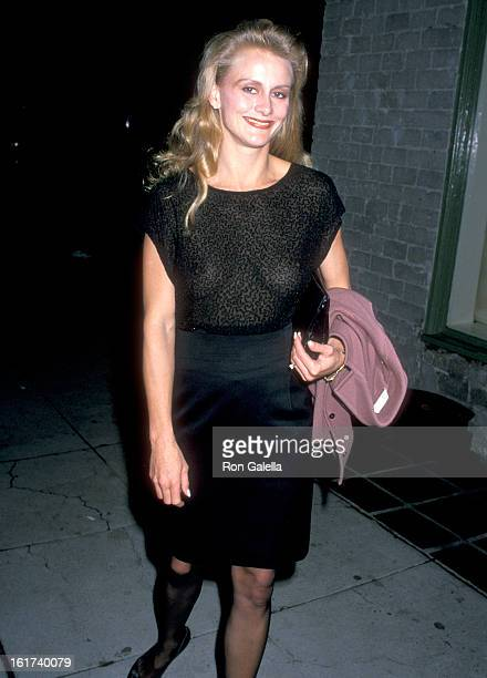 Actress Andrea Thompson attends the CBS Winter TCA Press Tour on January 14 1990 at Campanelli Restaurant in Los Angeles California