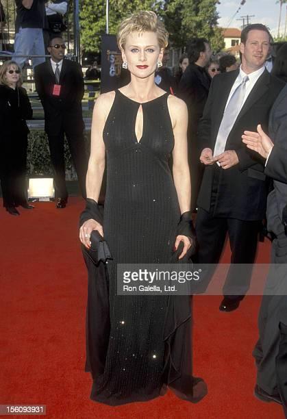 Actress Andrea Thompson attends the Fifth Annual Screen Actors Guild Awards on March 7 1999 at Shrine Auditorium in Los Angeles California