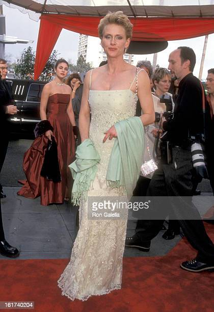 Actress Andrea Thompson attends the Second Annual TV Guide Awards on March 5 2000 at 20th Century Fox Studios in Century City California