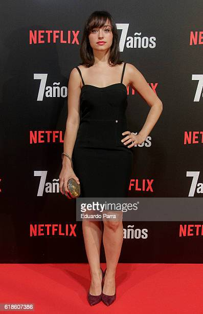 Actress Andrea Trepat attends the '7 anos' photocall at Capitol cinema on October 27 2016 in Madrid Spain