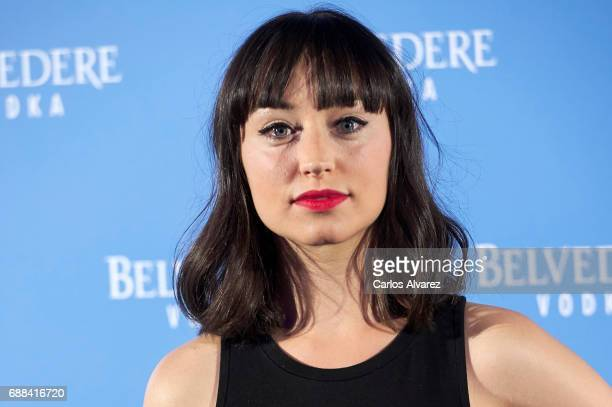 Actress Andrea Trepat attends the Belvedere Vodka party at the Pavon Kamikaze Teather on May 25 2017 in Madrid Spain