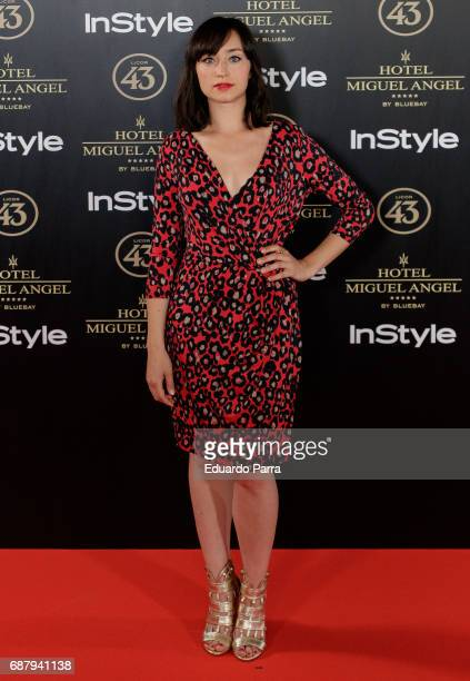 Actress Andrea Trepat attends the 'El Jardin del Miguel Angel' party photocall at Miguel Angel hotel on May 24 2017 in Madrid Spain