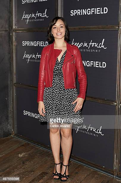 Actress Andrea Trepat attends the 'Keep in Touch' Fashion Film presentation at the Luchana Theater on November 17 2015 in Madrid Spain