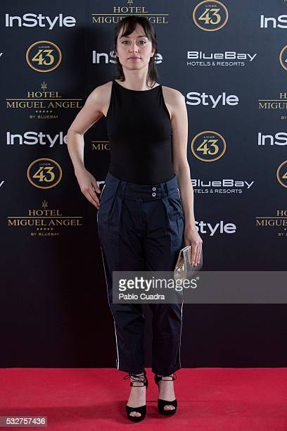 Actress Andrea Trepat attends the 'Live in Colors' photocall during the InStyle Beauty Day at the Miguel Angel Hotel Garden on May 19 2016 in Madrid...