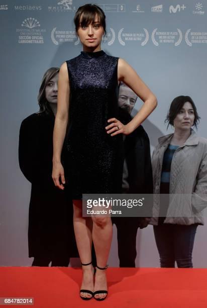Actress Andrea Trepat attends the 'No se decir adios' premiere at Palacio de la Prensa cinema on May 18 2017 in Madrid Spain