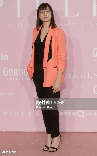 Actress Andrea Trepat attends the 'Pieles' premiere at Capitol cinema on June 7 2017 in Madrid Spain