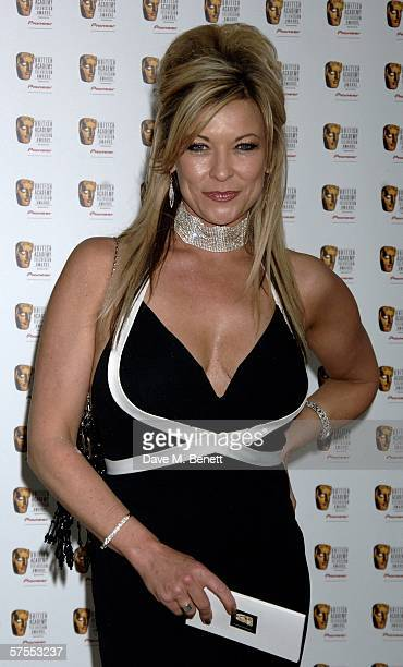 Actress Andree Bernard arrives at the Pioneer British Academy Television Awards 2006 at the Grosvenor House Hotel on May 7 2006 in London England