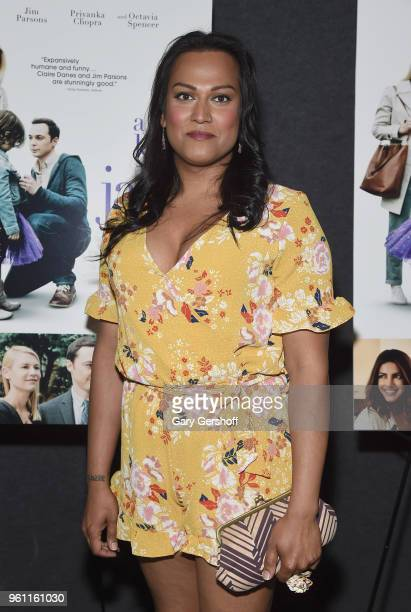 Actress Aneesh Sheth attends 'A Kid Like Jake' New York premiere at The Landmark at 57 West on May 21 2018 in New York City