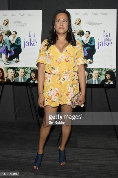 Actress Aneesh Sheth attends the A Kid Like Jake New York Premiere at The Landmark at 57 West on May 21 2018 in New York City