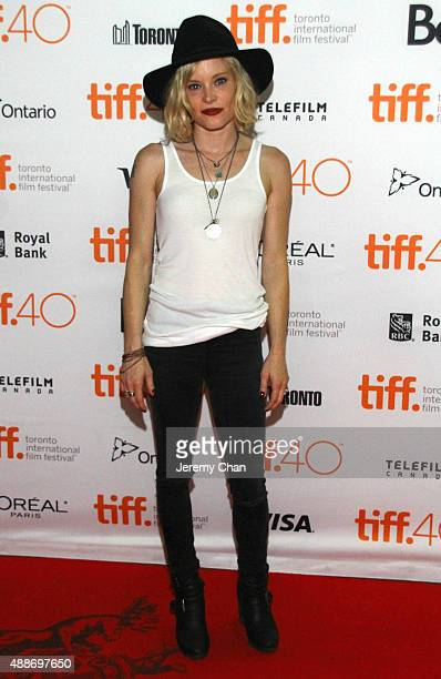 Actress Anessa Ramsey attends the Southbound photo call during the 2015 Toronto International Film Festival at Ryerson Theatre on September 16 2015...