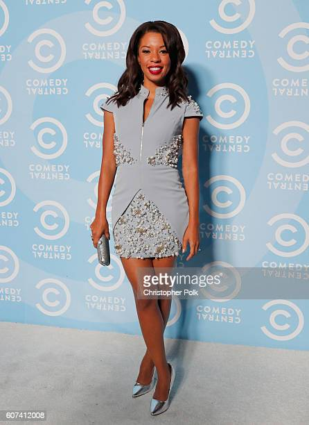 Actress Angel Parker attends the Comedy Central PreEmmys Party at Boulevard3 on September 17 2016 in Hollywood California
