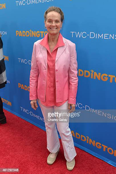 Actress Angel Tompkins arrives on the red carpet for the premiere of TWCDimension's 'Paddington' at TCL Chinese Theatre IMAX on January 10 2015 in...