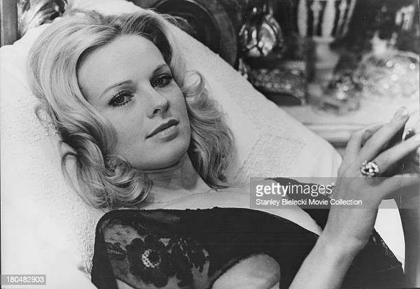 Actress Angel Tompkins in a scene from the movie 'Prime Cut' 1972