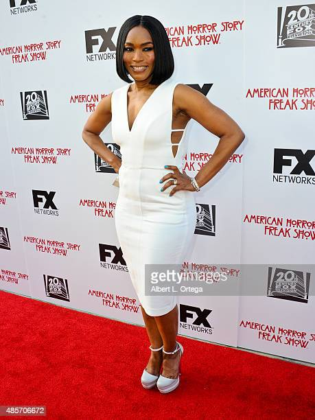 Actress Angela Basset arrives for FYC Special Screening And QA For FX's 'American Horror Story Freakshow' held at Paramount Studios on June 11 2015...