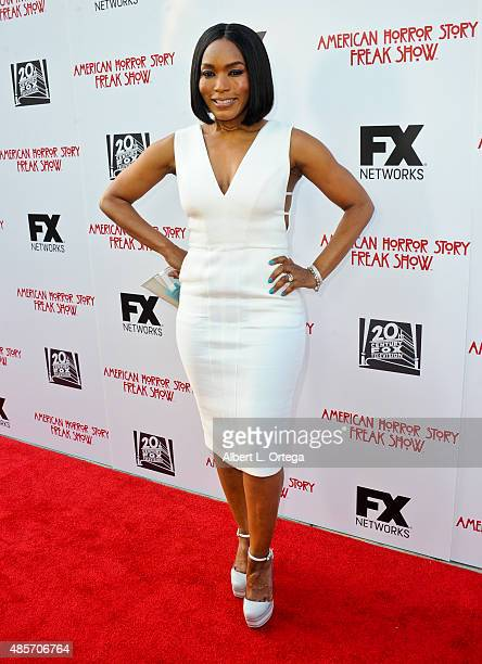Actress Angela Basset arrives for FYC Special Screening And QA For FX's American Horror Story Freakshow held at Paramount Studios on June 11 2015 in...