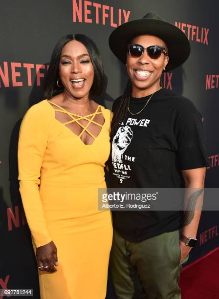 "Actress Angela Bassett and actress Lena Waithe attend Netflix's ""Master Of None"" For Your Consideration Event at the Saban Media Center on June 5,..."