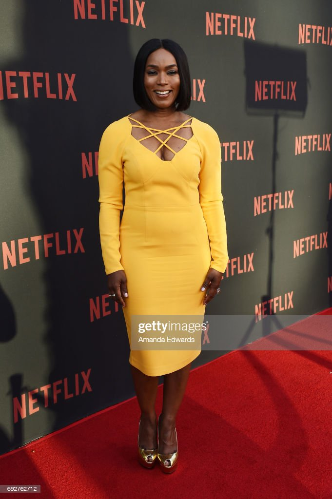 Actress Angela Bassett arrives at Netflix's 'Master Of None' For Your Consideration Event at the Saban Media Center on June 5, 2017 in North Hollywood, California.