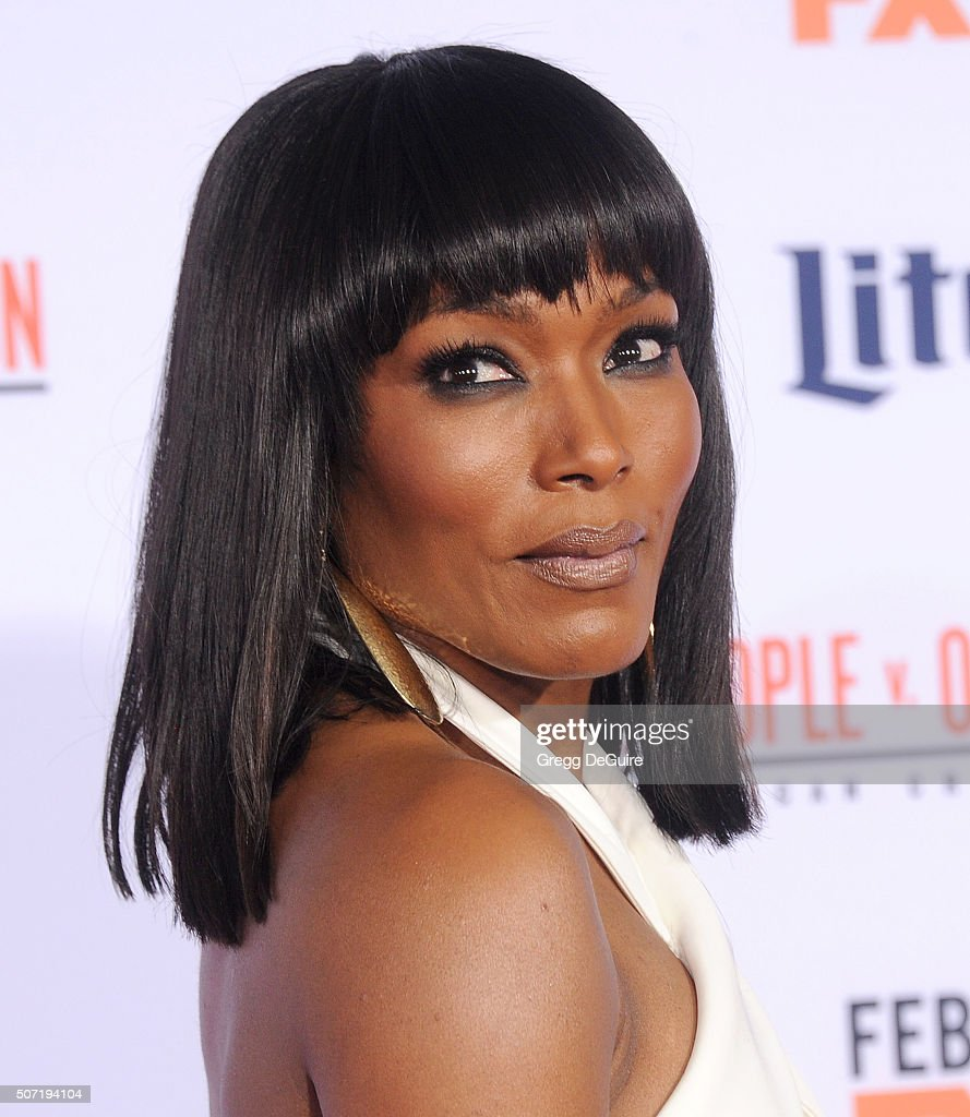 Angela Bassett attends the premiere of FXs American