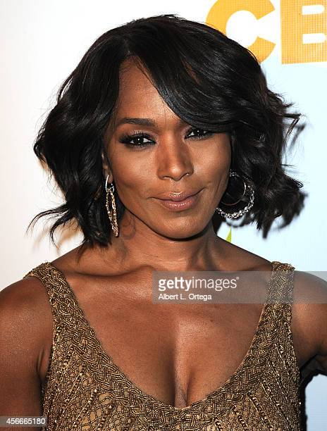 Actress Angela Bassett arrives for the Special Needs Network's 9th Annual Evening Under The Stars A Toast To Old Hollywood held at Sony Studios on...