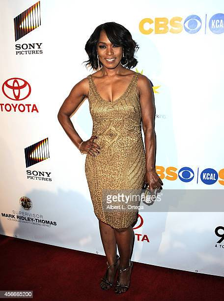 Actress Angela Bassett arrives for the Special Needs Network's 9th Annual 'Evening Under The Stars' A Toast To Old Hollywood held at Sony Studios on...