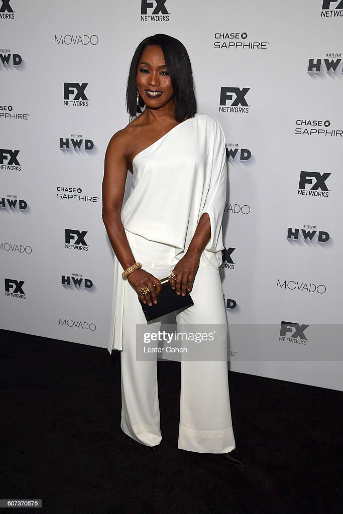 Actress Angela Bassett at Vanity Fair And FX's Annual Primetime Emmy Nominations Party on September 17, 2016 in Beverly Hills, California.