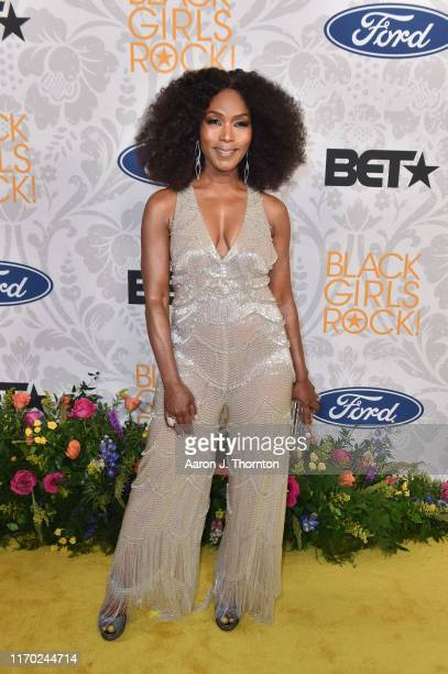 Actress Angela Bassett attends Black Girls Rock at NJ Performing Arts Center on August 25 2019 in Newark New Jersey