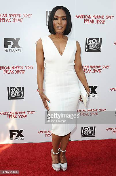 "Actress Angela Bassett attends FX's ""American Horror Story: Freakshow"" FYC special screening and Q&A at Paramount Studios on June 11, 2015 in Los..."