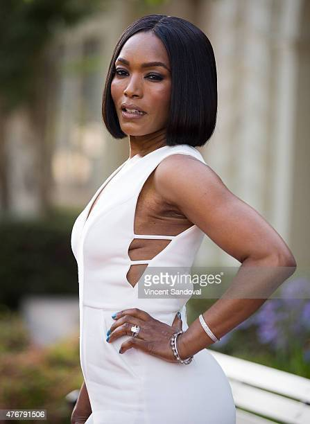 Actress Angela Bassett attends FX's American Horror Story Freakshow FYC special screening and QA at Paramount Studios on June 11 2015 in Los Angeles...