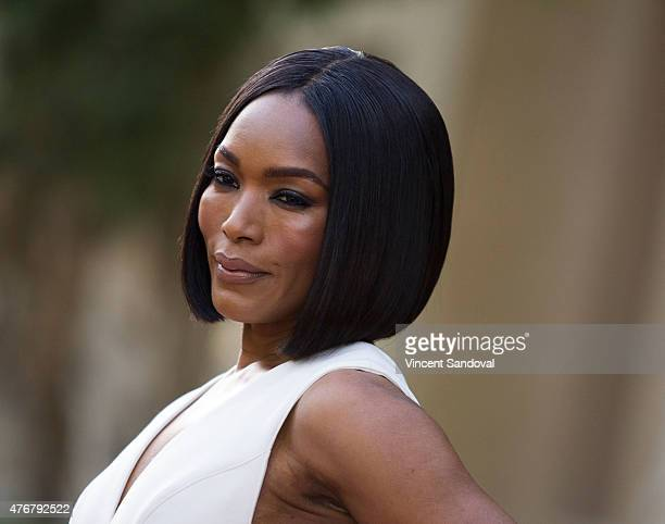 Actress Angela Bassett attends FX's 'American Horror Story Freakshow' FYC special screening and QA at Paramount Studios on June 11 2015 in Los...