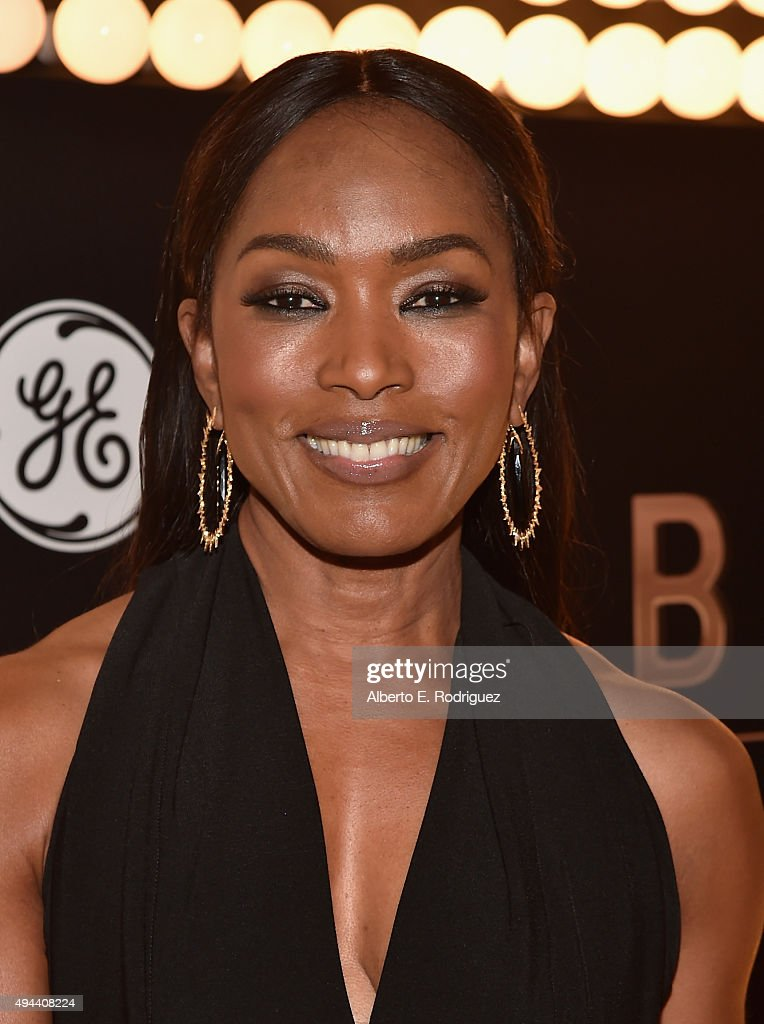 Actress Angela Bassett attends National Geographic Channel's 'Breakthrough' world premiere event at The Pacific Design Center on October 26, 2015 in West Hollywood, California.