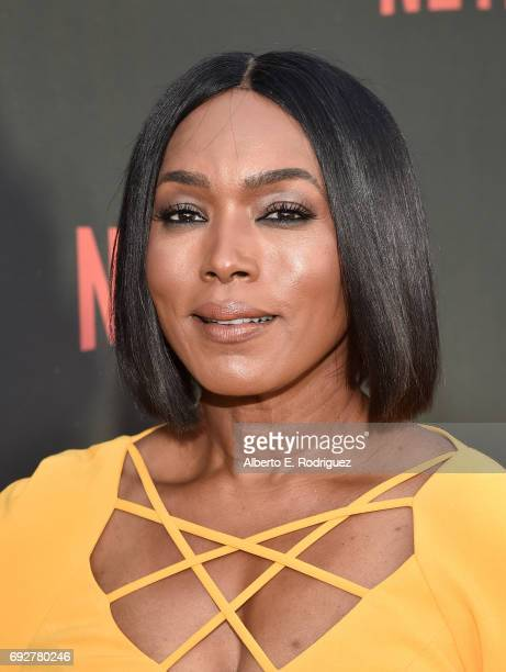 "Actress Angela Bassett attends Netflix's ""Master Of None"" For Your Consideration Event at the Saban Media Center on June 5, 2017 in North Hollywood,..."