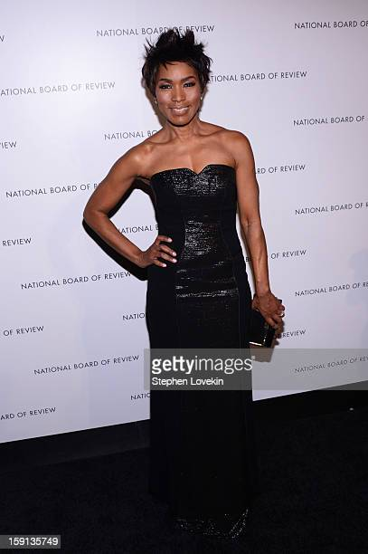 Actress Angela Bassett attends the 2013 National Board Of Review Awards at Cipriani 42nd Street on January 8 2013 in New York City