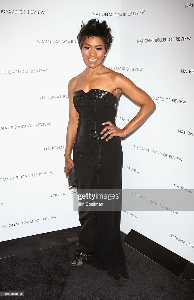 Actress Angela Bassett attends the 2013 National Board Of Review Awards Gala at Cipriani Wall Street on January 8, 2013 in New York City.