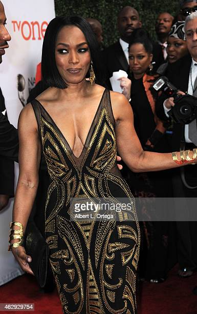 Actress Angela Bassett attends the 46th Annual NAACP Image Awards held at the Pasadena Civic Auditorium on February 6 2015 in Pasadena California