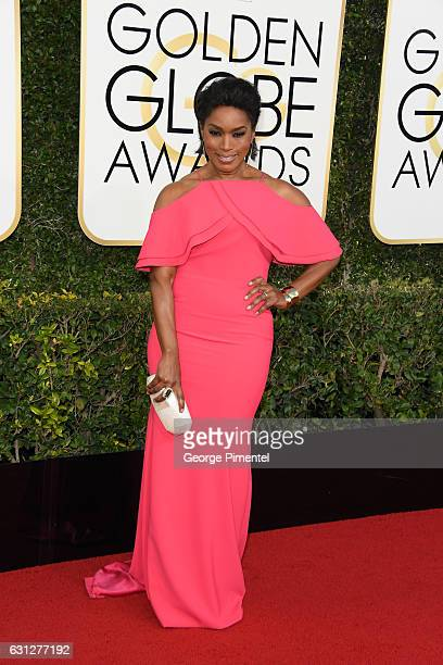 Actress Angela Bassett attends the 74th Annual Golden Globe Awards at The Beverly Hilton Hotel on January 8 2017 in Beverly Hills California