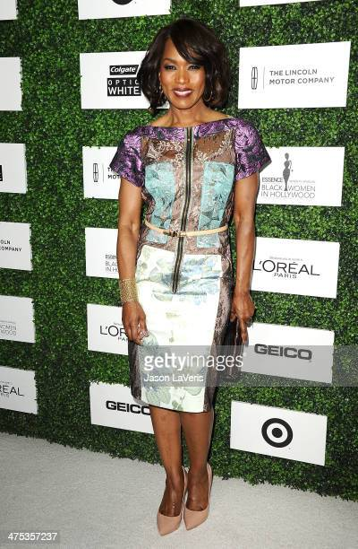 Actress Angela Bassett attends the 7th annual ESSENCE Black Women In Hollywood luncheon at Beverly Hills Hotel on February 27 2014 in Beverly Hills...