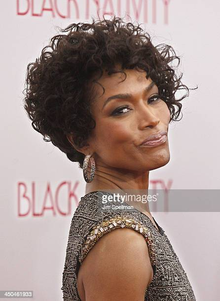 Actress Angela Bassett attends the Black Nativity premiere at The Apollo Theater on November 18 2013 in New York City