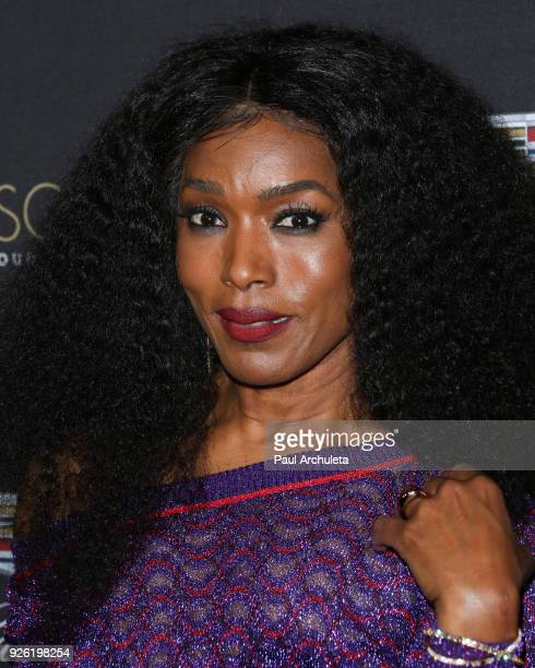 Actress Angela Bassett attends the Cadillac celebration for the 90th Annual Academy Awards at Chateau Marmont on March 1 2018 in Los Angeles...