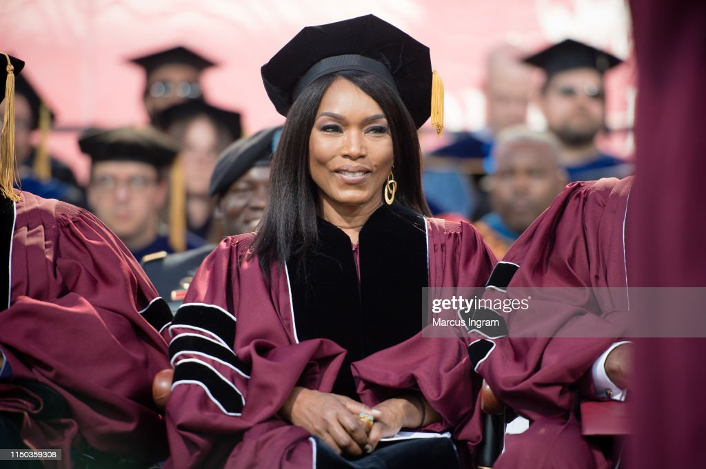 GA: Angela Bassett Receives And Honorary Degree During The Morehouse College 135th Commencement