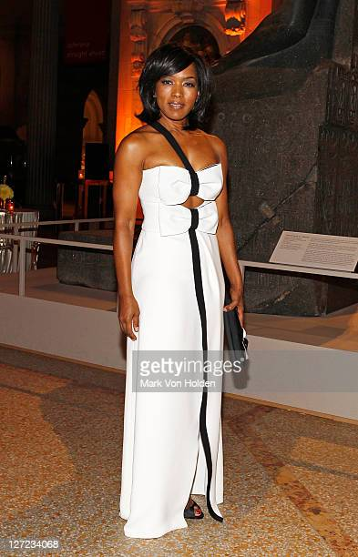 "Actress Angela Bassett attends the Multicultural Benefit Gala to Celebrate ""An Evening of Many Cultures"" at the Metropolitan Museum of Art on..."