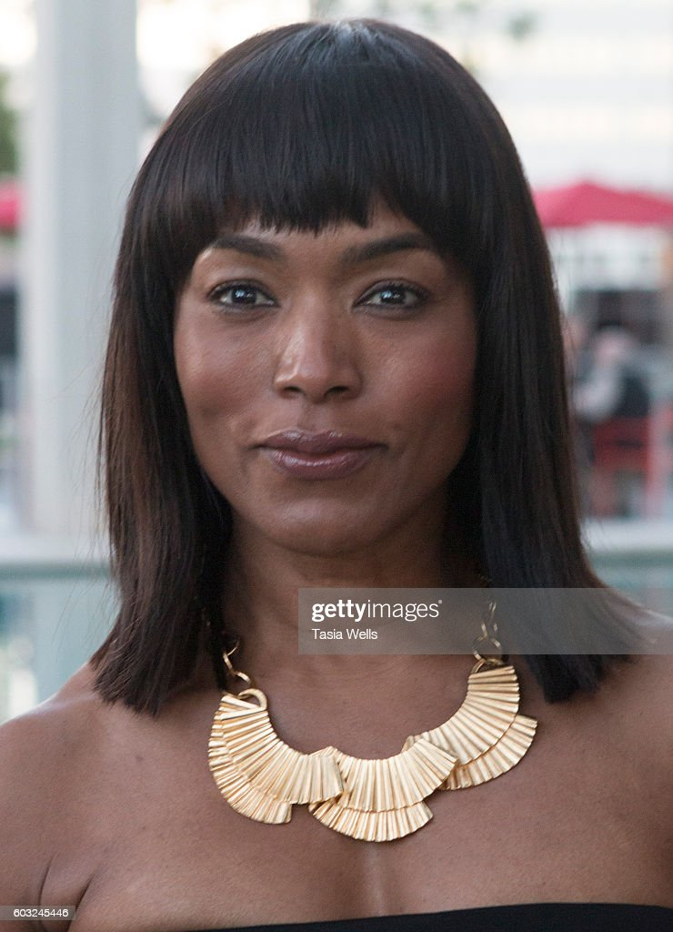 Actress Angela Bassett attends the opening night of 'Ma Rainey's Black Bottom' at Mark Taper Forum on September 11, 2016 in Los Angeles, California.