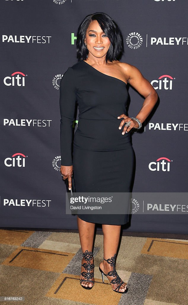 Actress Angela Bassett attends The Paley Center For Media's 33rd Annual PaleyFest Los Angeles - Closing Night Presentation: 'American Horror Story: Hotel' at Dolby Theatre on March 20, 2016 in Hollywood, California.