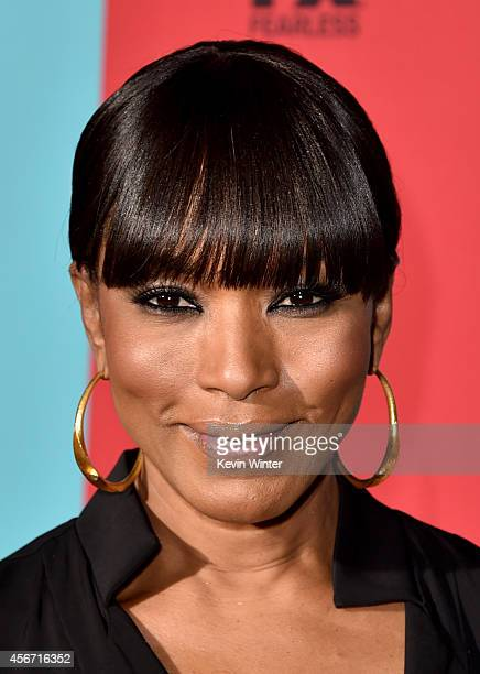 Actress Angela Bassett attends the premiere screening of FX's American Horror Story Freak Show at TCL Chinese Theatre on October 5 2014 in Hollywood...