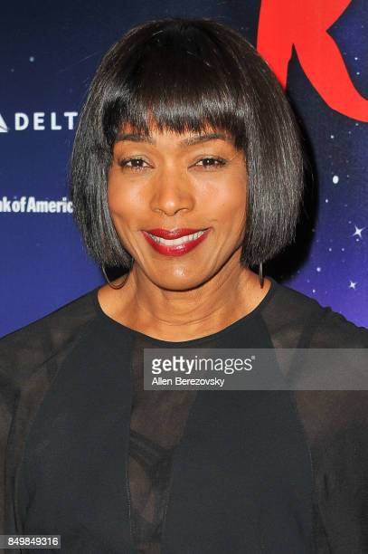 Actress Angela Bassett attends The Red Shoes opening night performance at Ahmanson Theatre on September 19 2017 in Los Angeles California
