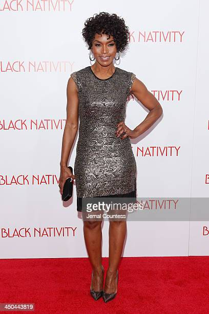 Actress Angela Bassett attends theBlack Nativity premiere at The Apollo Theater on November 18 2013 in New York City