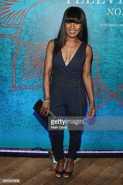 Actress Angela Bassett attends Variety and Women in Film Emmy Nominee Celebration powered by Samsung Galaxy on August 23 2014 in West Hollywood...