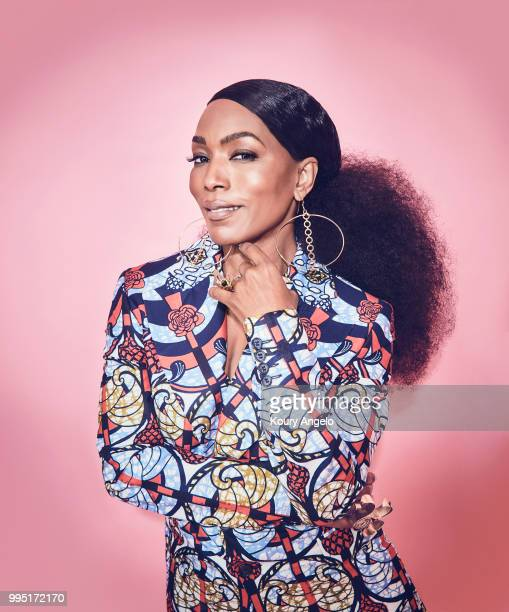 Actress Angela Bassett is photographed for Entertainment Weekly Magazine on January 30 2018 in Los Angeles California PUBLISHED IMAGE