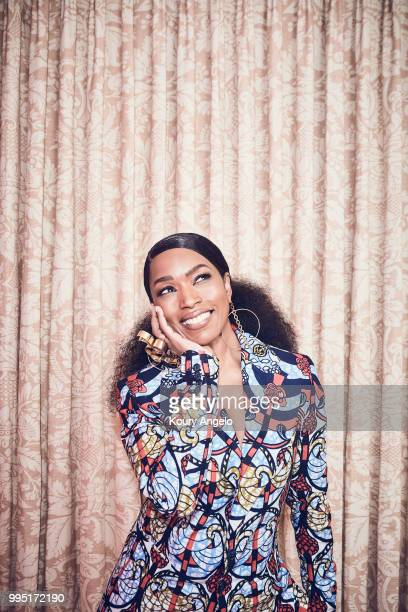 Actress Angela Bassett is photographed for Entertainment Weekly Magazine on January 30 2018 in Los Angeles California